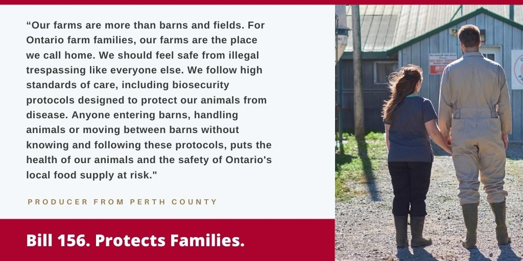 Bill 156 Protects Families
